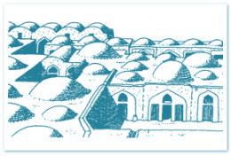 Figura 1. Arquitectura característica de zonas quentes e secas