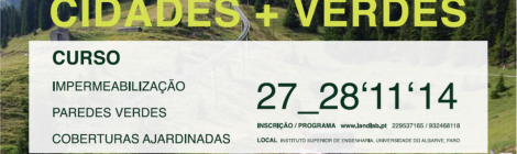 (Português) Curso IMPERMEABILIZAÇÃO, PAREDES VERDES e COBERTURAS AJARDINADAS