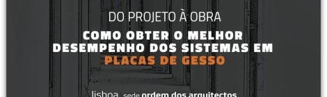 (Português) Conferência técnica na Ordem dos Arquitetos l do projeto à obra