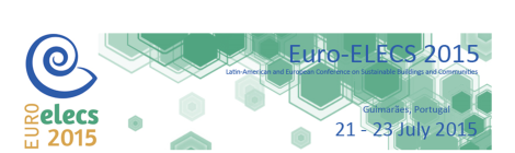 (Português) Euro-ELECS 2015 – I CONFERÊNCIA LATINO-AMERICANA E EUROPEIA SOBRE EDIFICAÇÕES E COMUNIDADES SUSTENTÁVEIS