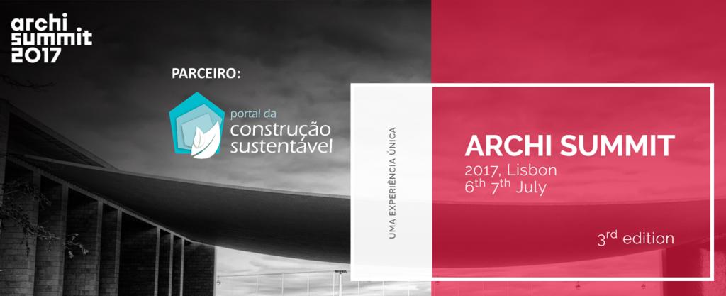 PARTICIPE NO ÚNICO SUMMIT INTERNACIONAL DE ARQUITETURA EM PORTUGAL