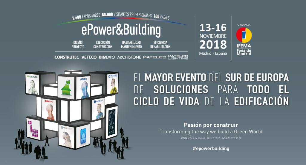 CONSTRUTEC 2018 | IFEMA - MADRID | 13 to 16 NOVEMBER