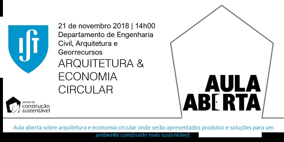 AULA ABERTA | ARQUITETURA & ECONOMIA CIRCULAR