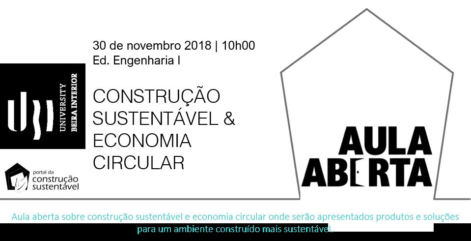 AULA ABERTA | CONSTRUÇÃO & ECONOMIA CIRCULAR