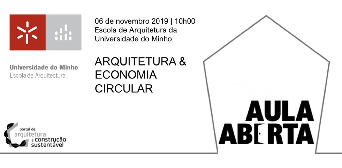 AULA ABERTA   ESCOLA DE ARQUITETURA DA UNIVERSIDADE DO MINHO