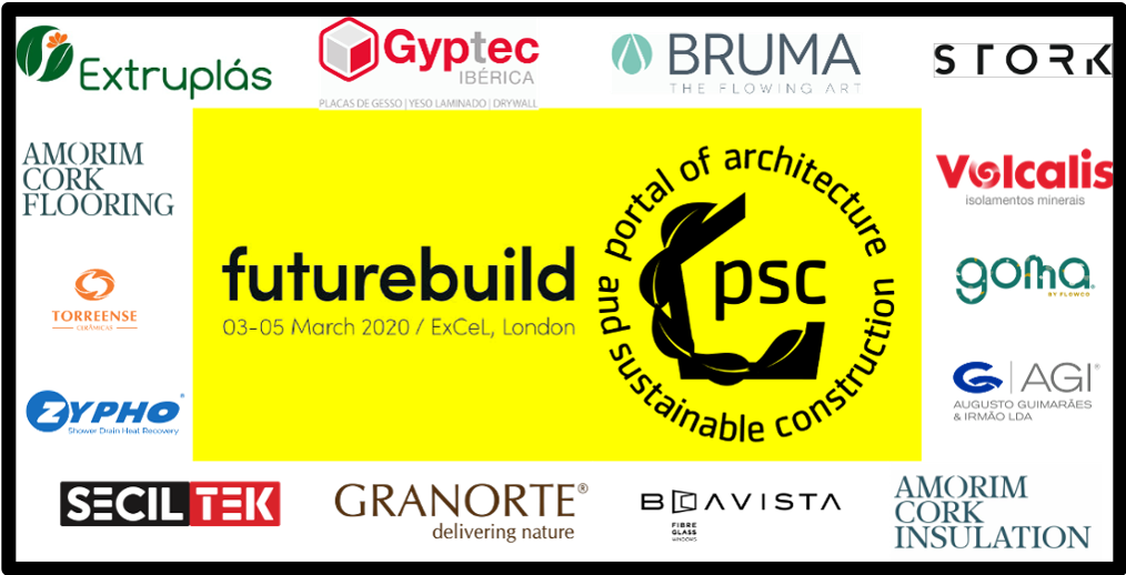 WE are already in the Futurebuild 2020 With our partners!