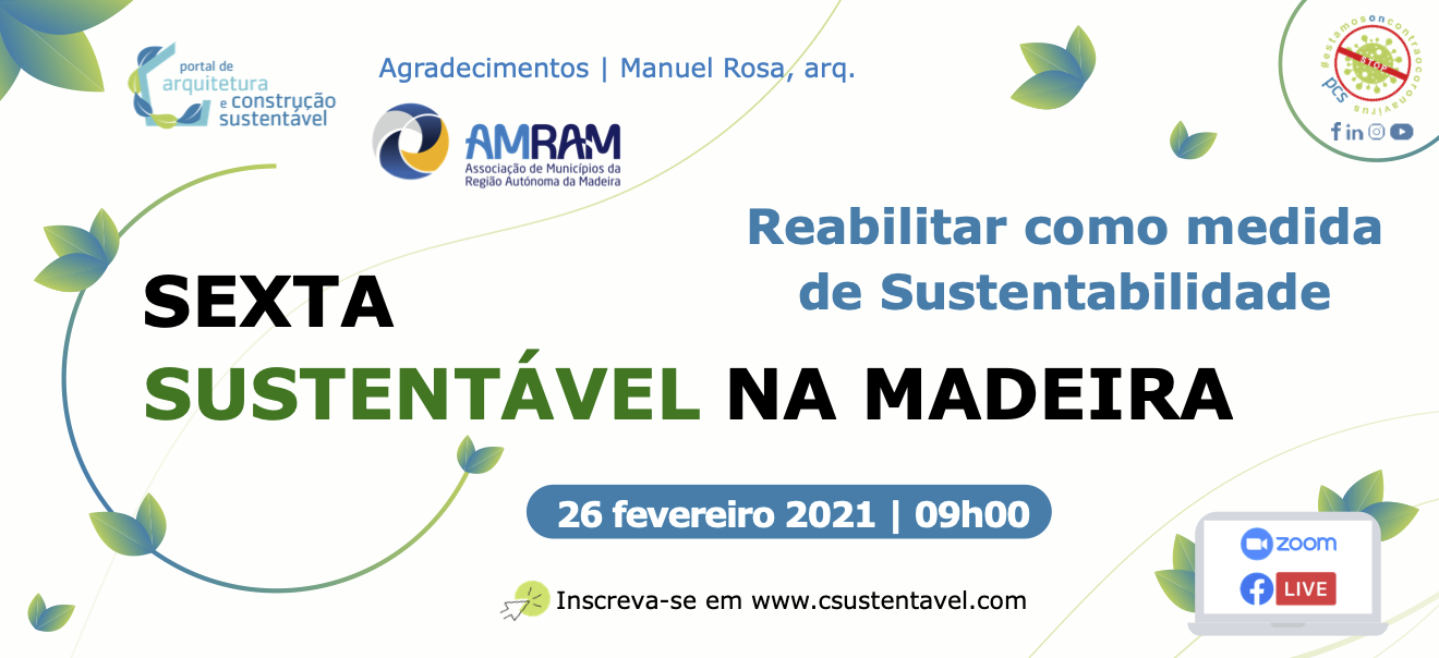 (PT) REABILITAR COMO MEDIDA DE SUSTENTABILIDADE | 26 FEVEREIRO